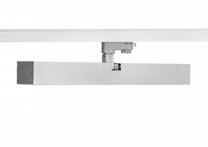 80W LED linear track light used for parking lots with 60 degree beam angle